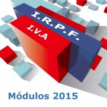 Publicado el proyecto de Orden de módulos para el año 2016