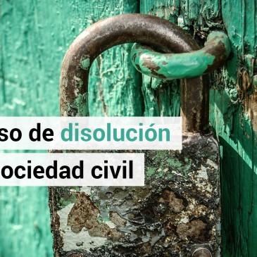 Las sociedades civiles deben darse de alta o baja antes del 1 de julio