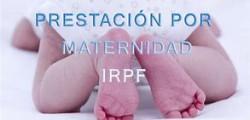 Devolución del IRPF por las prestaciones de maternidad y paternidad